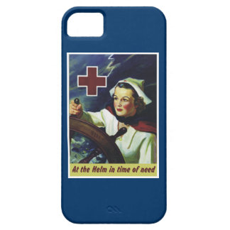 Enfermera en el timón iPhone 5 carcasa