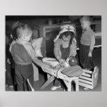 Enfermera en Training, 1943 Poster