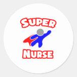 Enfermera estupenda etiquetas