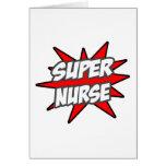 Enfermera estupenda felicitaciones