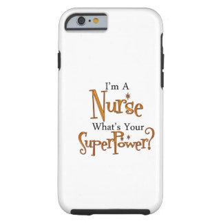Enfermera estupenda funda para iPhone 6 tough