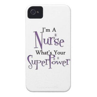 Enfermera estupenda iPhone 4 Case-Mate cárcasas