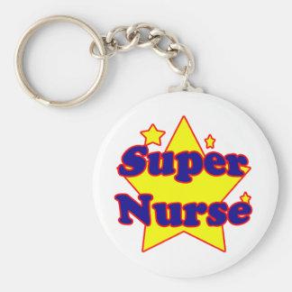 Enfermera estupenda llavero personalizado