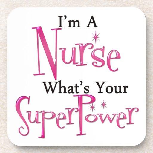Enfermera estupenda posavaso