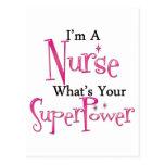Enfermera estupenda tarjetas postales