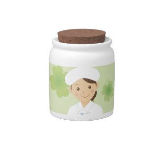 Enfermera Jarra Para Caramelo