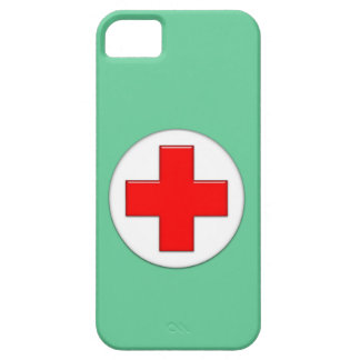 Enfermera iPhone 5 Protector