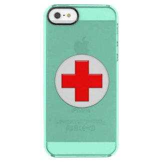 Enfermera Funda Clearly™ Deflector Para iPhone 5 De Uncommon