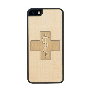 Enfermera Funda De Arce Carved® Para iPhone 5 Slim