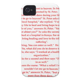 enfermera funda para iPhone 4 de Case-Mate