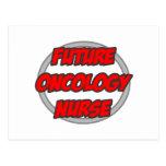 Enfermera futura de la oncología tarjeta postal