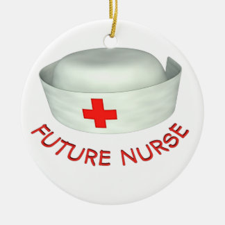 Enfermera futura adornos de navidad