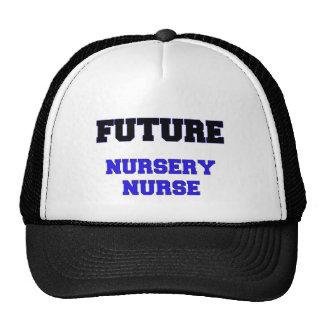 Enfermera futura del cuarto de niños gorros
