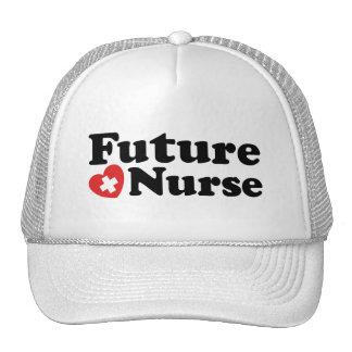 Enfermera futura gorros