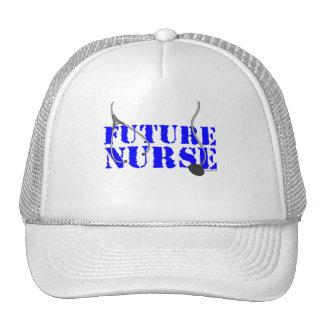 Enfermera futura gorras de camionero