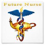 Enfermera futura impresiones fotograficas