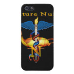Enfermera futura iPhone 5 carcasas