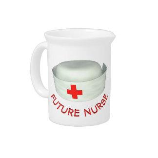 Enfermera futura jarron