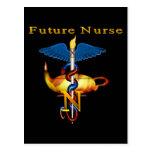 Enfermera futura postal