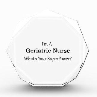 Enfermera geriátrica