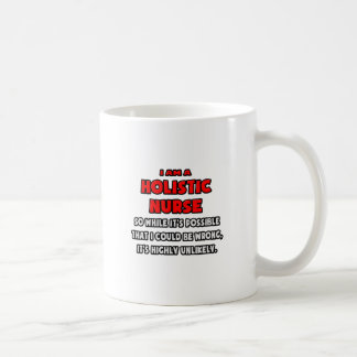 Enfermera holística divertida. Altamente Taza De Café