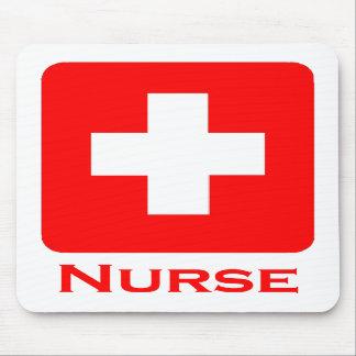 Enfermera-Inglés Alfombrilla De Ratón