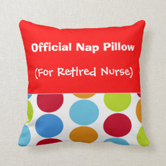 "Enfermera jubilada ""almohada de la siesta """