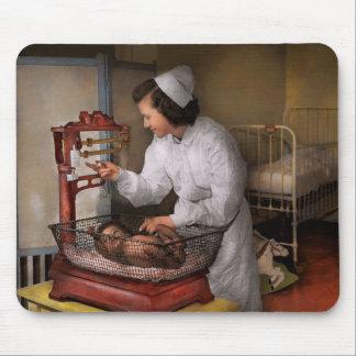 Enfermera - la sala 1943 de la pediatría tapetes de ratones
