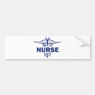 enfermera malvada etiqueta de parachoque
