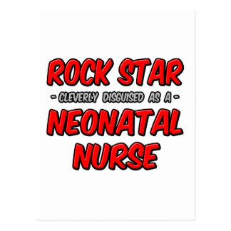 Enfermera neonatal de la estrella del rock… postales