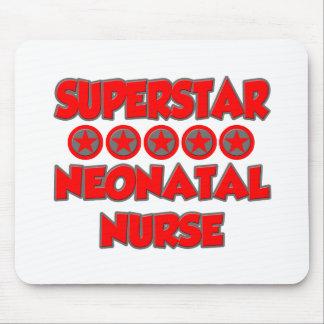 Enfermera neonatal de la superestrella tapetes de ratón