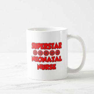 Enfermera neonatal de la superestrella taza