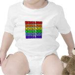 Enfermera neonatal del arco iris traje de bebé