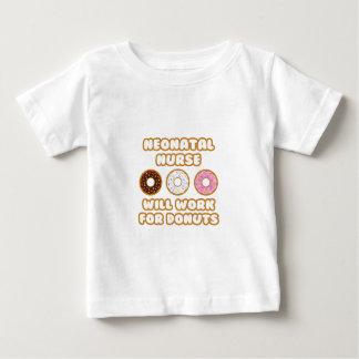 Enfermera neonatal. Trabajará para los anillos de Camisetas