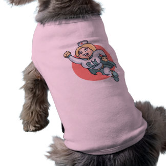 ¡Enfermera nocturna! Playera Sin Mangas Para Perro