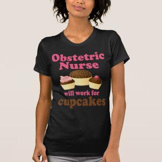 Enfermera obstétrica divertida camisetas