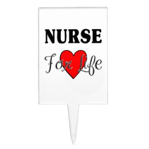 Enfermera para la vida decoración de tarta