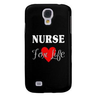 Enfermera para la vida funda para galaxy s4