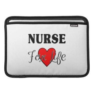 Enfermera para la vida funda macbook air