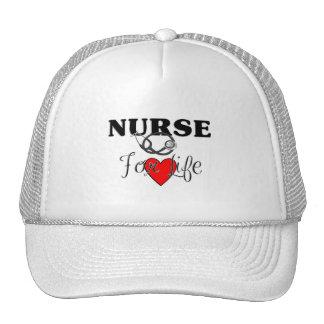 Enfermera para la vida gorro de camionero