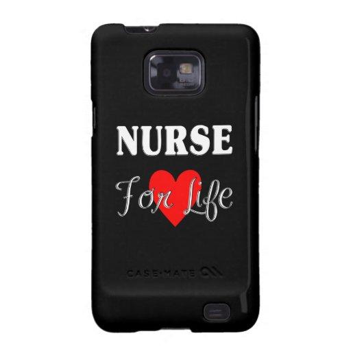 Enfermera para la vida samsung galaxy s2 carcasas