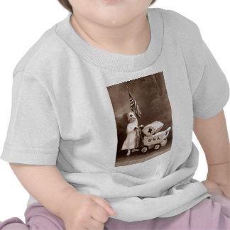 Enfermera patriótica 1917 camisetas