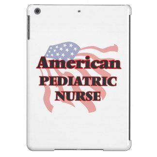 Enfermera pediátrica americana funda para iPad air