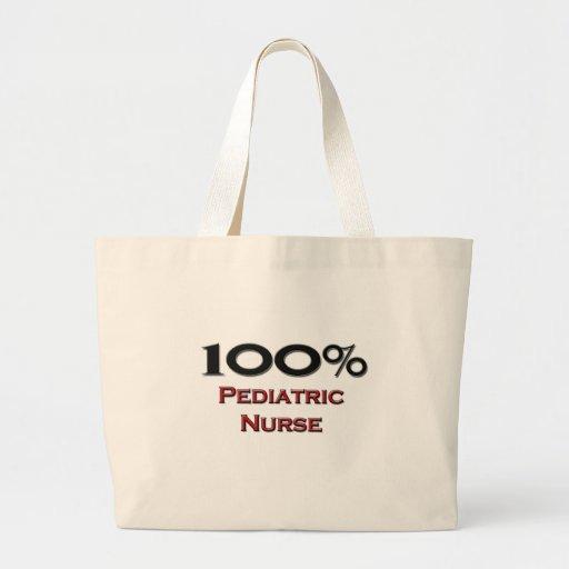 Enfermera pediátrica del 100 por ciento bolsa