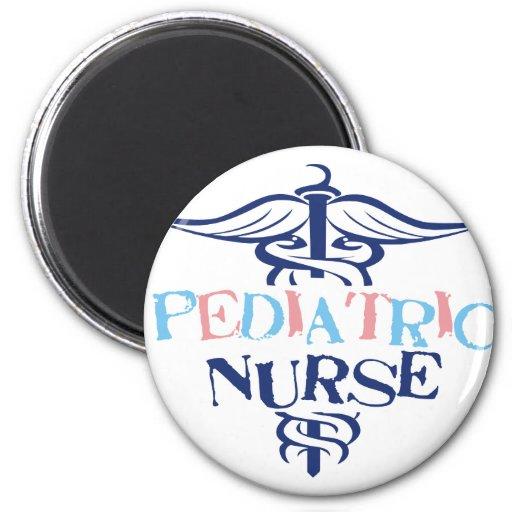 Enfermera pediátrica imán de frigorifico