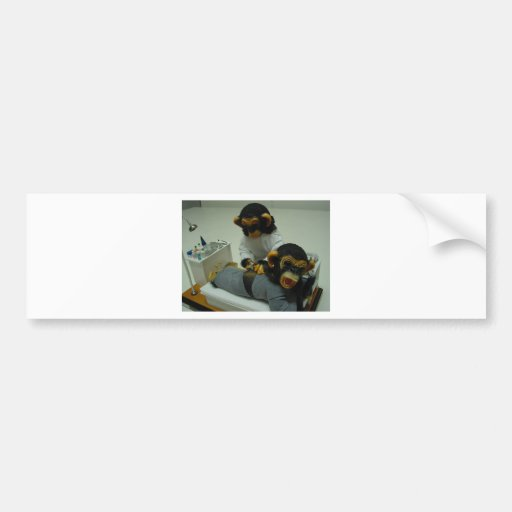 enfermera pegatina de parachoque