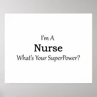 Enfermera Póster