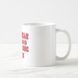 Enfermera psiquiátrica de la superestrella taza de café