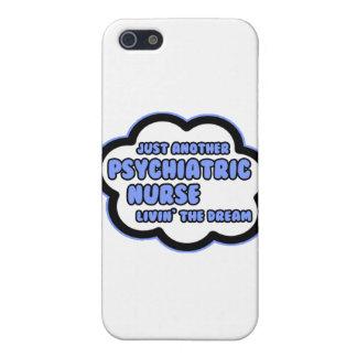 Enfermera psiquiátrica. Livin el sueño iPhone 5 Cárcasa