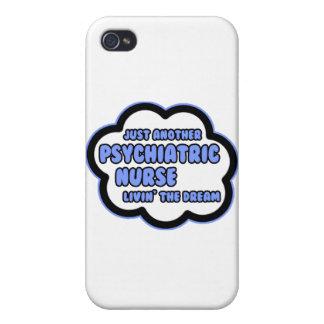 Enfermera psiquiátrica. Livin el sueño iPhone 4 Funda